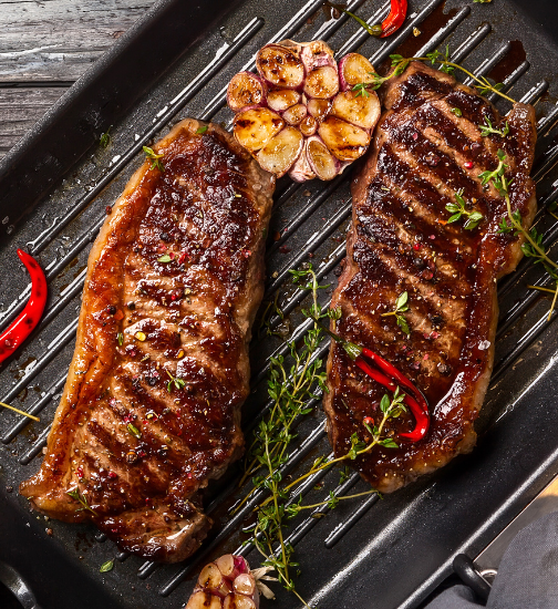 Picture of New York Strips
